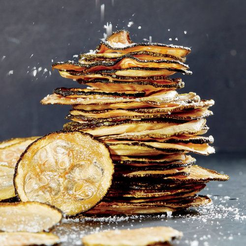 Sea Salt and Vinegar Zucchini Chips   Crunchy and salty, while being slightly addictive, these chip recipes can curb you off the store-bought stuff.   Cooking Light