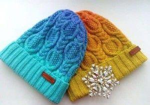 № 58 Узор спицами для детских шапок