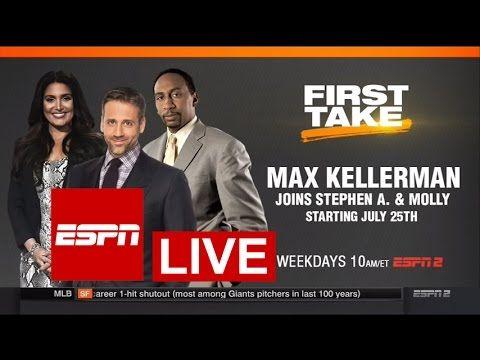 ESPN First Take LIVE 11/28/2016 HD - Stephen A. Smith vs Max Kellerman N...