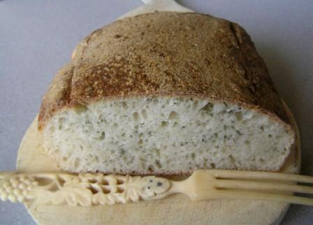 Chleb maoryski, na zakwasie z gotowanego ziemniaka