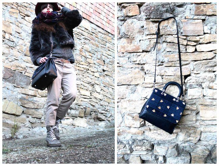 #ootd for #winter   #winterootd #style #streetstyle #bag #bags #fashionbloggers #madeinitaly #fashion #regenesi #filebag