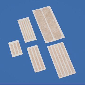 DeRoyal Episeal® Wound Closure Strips - Superior adhesive. Alternative to sutures for minor lacerations, Reinforce sutures, securing tubes. Protecting tissue from trauma surrounding wounds.