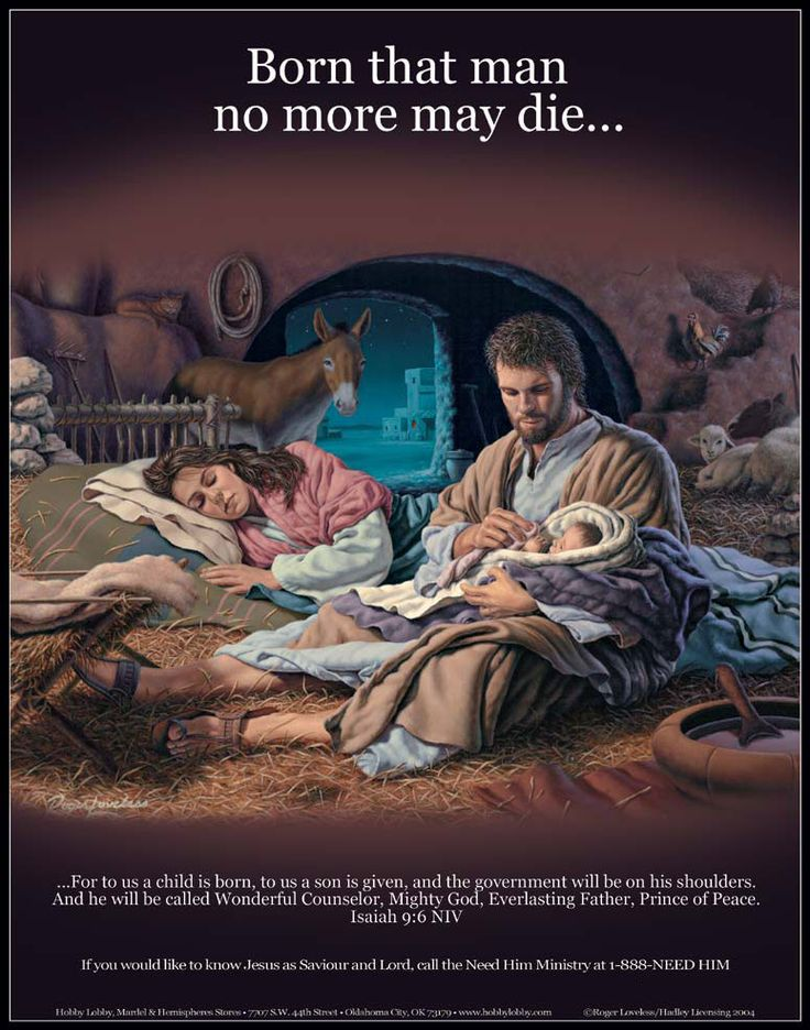 i really like how mary is sleeping and joesph is up with Jesus. makes it seem more human like. #st.joesph