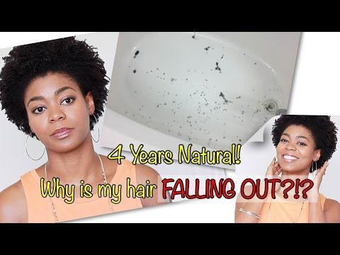 STORY TIME! - 4 Yrs Natural, Why IS MY HAIR FALLING OUT?! - (Iron Deficiency Anemia Battle)- 4C Hair - YouTube