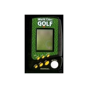World Class Golf Handheld Electronic Game (Toy)  http://www.amazon.com/dp/B002OXFF06/?tag=23taf-20  B002OXFF06
