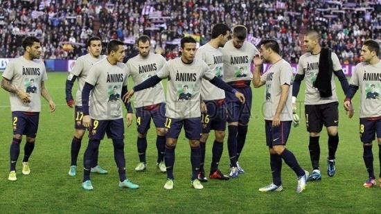 The team #FCBarcelona