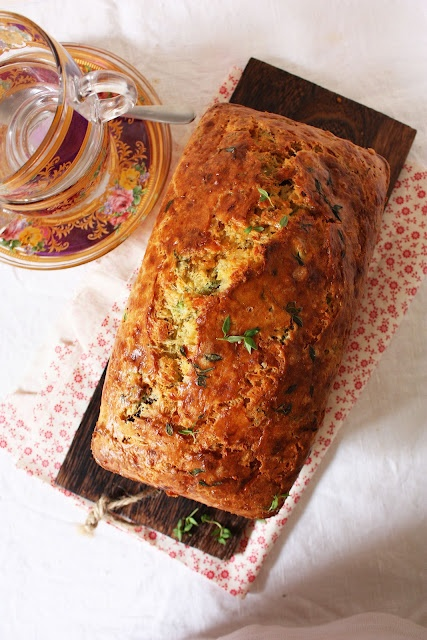 Cheese, Olive & Herb Quick Bread