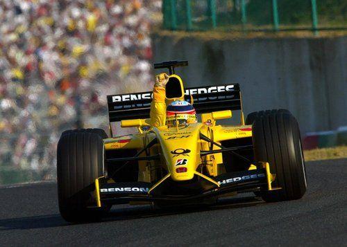 Takuma Sato - Jordan EJ12 - 2002 - Japanese GP (Suzuka)