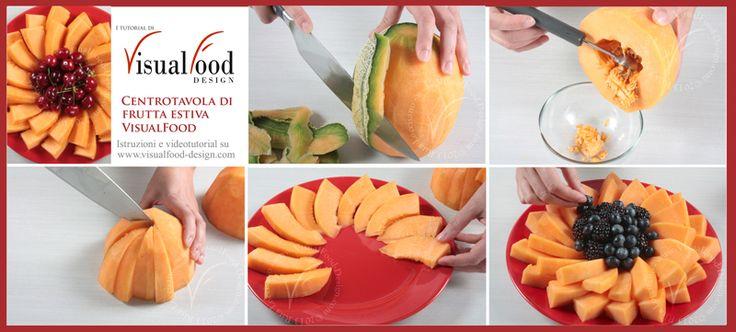 tutorial centrotavola di melone
