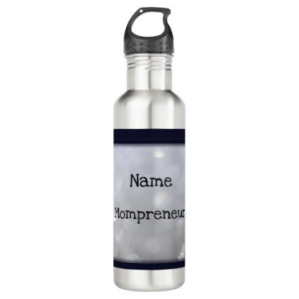 Mompreneur personalised water bottle - home gifts ideas decor special unique custom individual customized individualized