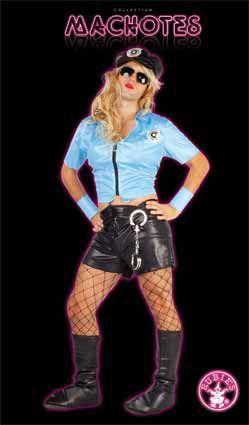 Disfraz Policia. Despedida de Soltero