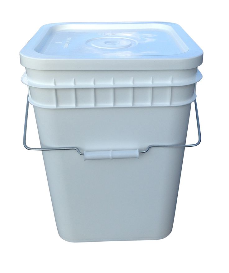 food grade 3 gallon square buckets so useful for garden and kitchen i stack