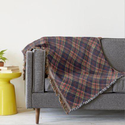 Commonwealth Original Scottish Tartan Throw Blanket - original gifts diy cyo customize