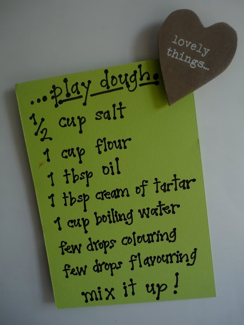 The Imagination Tree: Play Dough!