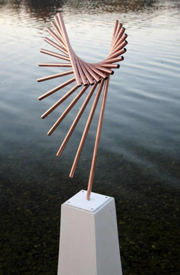 Sculpture: 'Poise' by sculptor Thomas Joynes in Abstract Contemporary or Modern Outdoor Outside Exterior Garden / Yard Sculptures Statues statuary - Garden Sculpture for sale - ArtParkS Sculpture Park - Bringing Sculpture into the Open