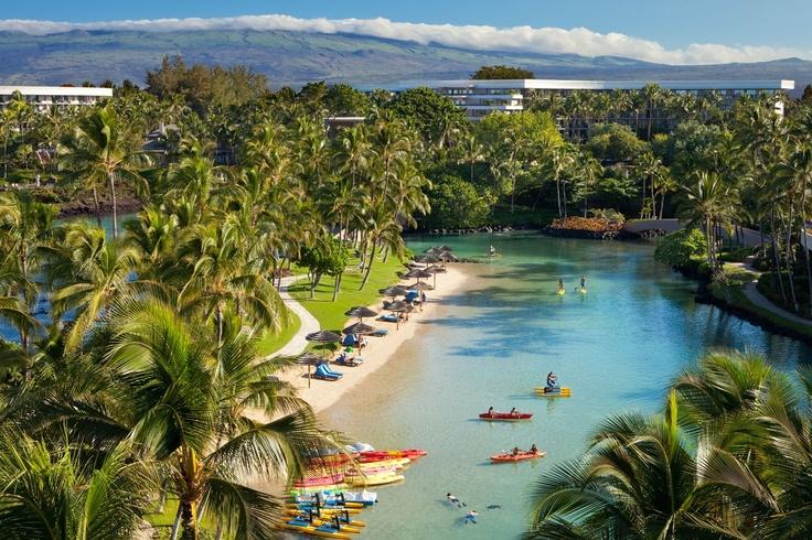 The Hilton Waikoloa Village on the The Big Island. Hawaii. Love it here!