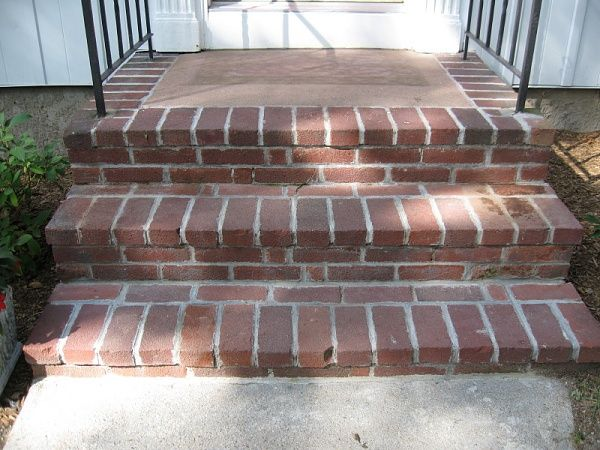 Best 25 Brick Steps Ideas On Pinterest Front Porch