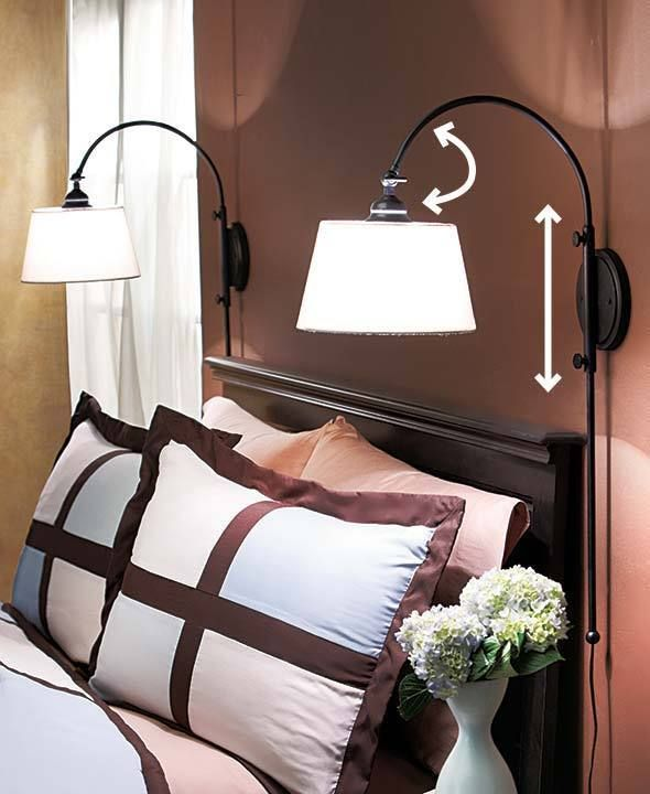 bedroom swing arm lighting adjustable bedroom swing light bedroom