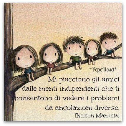 Parole e ispirazione - Nelson Mandela - citazione
