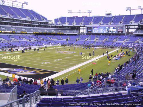 baltimore ravens vs cleveland browns 4 tickets ll 12 30 18 1 rh pinterest com  m&t bank stadium parking lot a