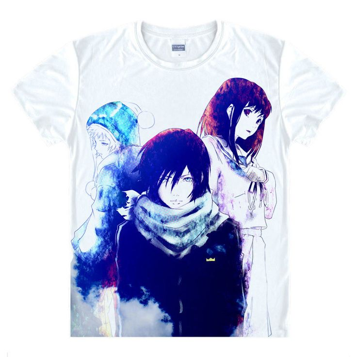 Noragami T-Shirt Nora Shirt Fashion printed t-shirts Anime Collection kawaii dress summer t-shirts Japanese Anime And Manga A - Top Kawaii - Best Online Kawaii Shop Top Kawaii - Best Online Kawaii Shop
