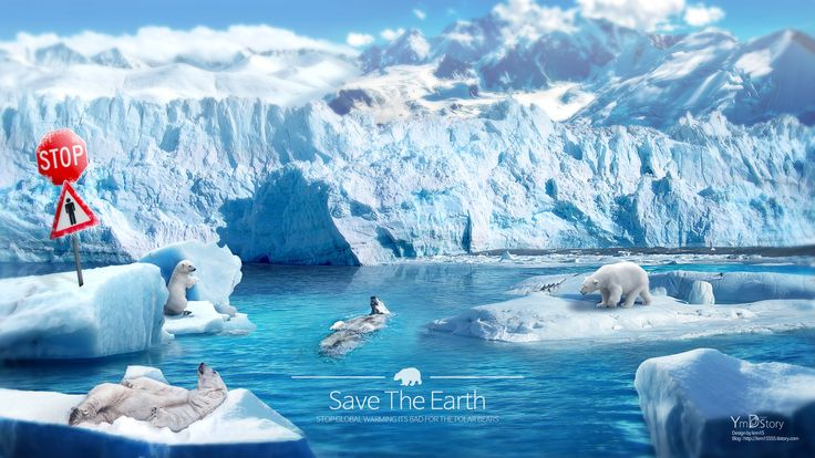 Photoshop Artwork #13 - Save the earth :: Ym.d_story