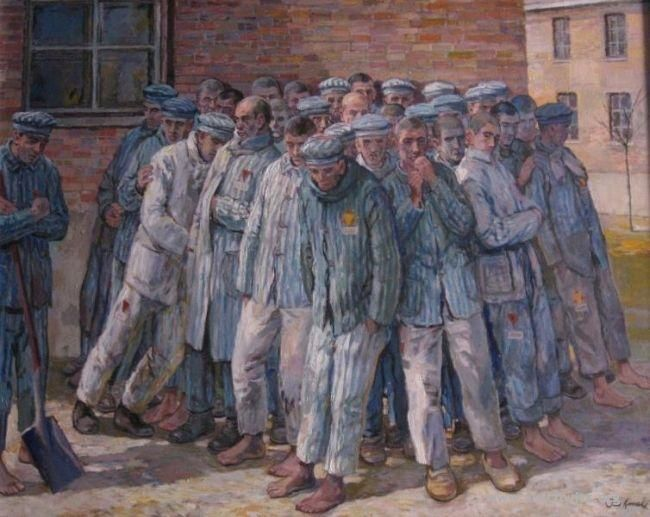 17 Best images about Holocaust artists paintings on ...