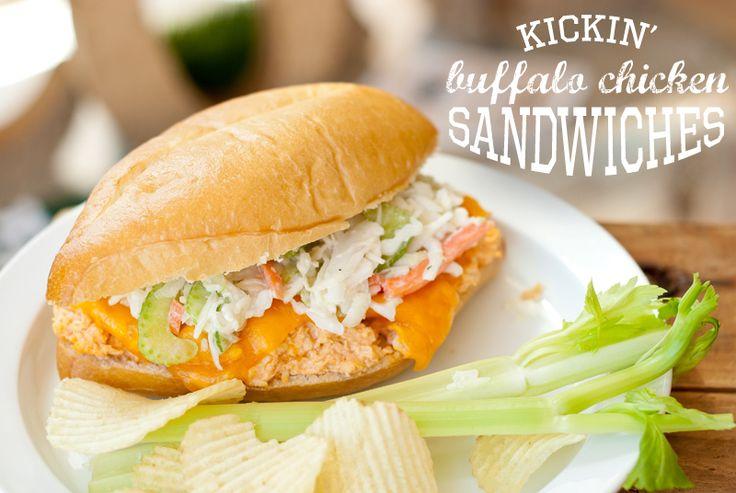 Anders Ruff Custom Designs, LLC: Ad: I Scored at Sam's Club & My Football Party Kickin' Buffalo Chicken Sandwich Recipe