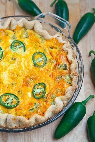 Jalapeno Popper Quiche Recipe