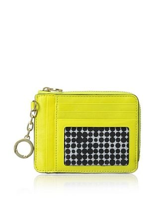 30% OFF Kate Spade Saturday Women's Leather Card & Coin Wallet, Chartreuse