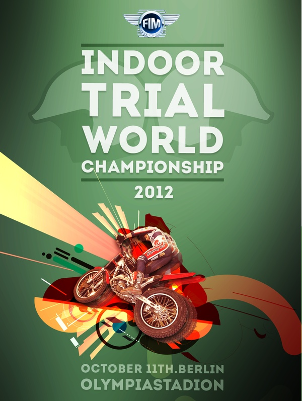 Indoor Trial  World Championship - Tv Identity by Federico Cerdà, via Behance