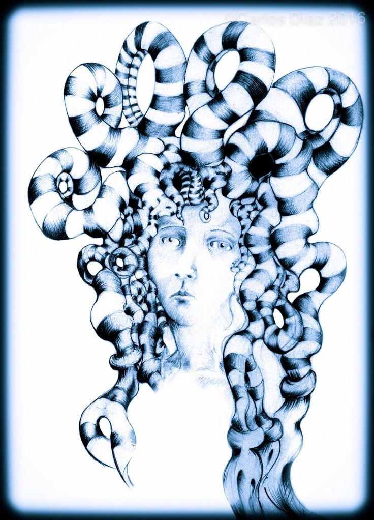 Printed on 310gsm 'Museum fine art matt' paper with archival inks. Contemporary Medusa. 21 x 29cm. This was printed on a large format printer at Sir John Cass School of Art/ London Metropolitan University in Aldgate East, London. | eBay!