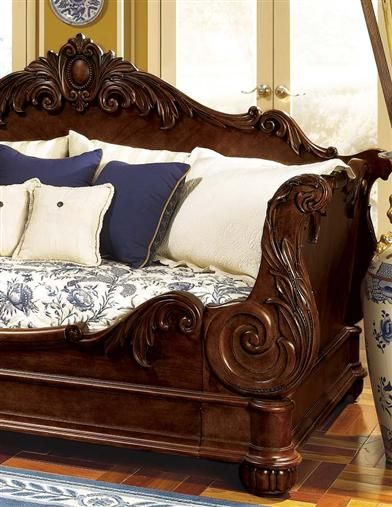 I have a queen sleigh bed that has been cut down to resemble this, just need to measure out the opening to get a mattress now and make it up as a comfy little spot to read.