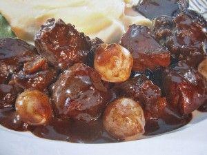 Boeuf bourguignon, cuisson à basse température