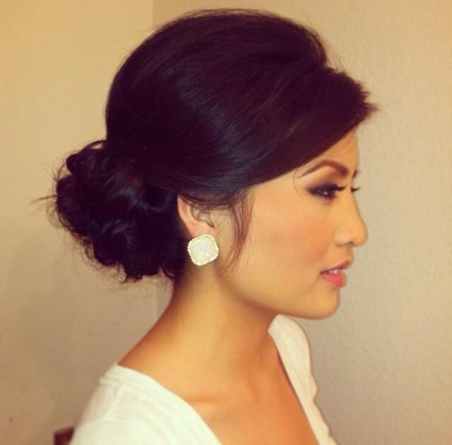 Chinese Bridal Hairstyles Classic Sleek Updo 新娘盘头发型: Best 20+ Classic Updo Hairstyles Ideas On Pinterest