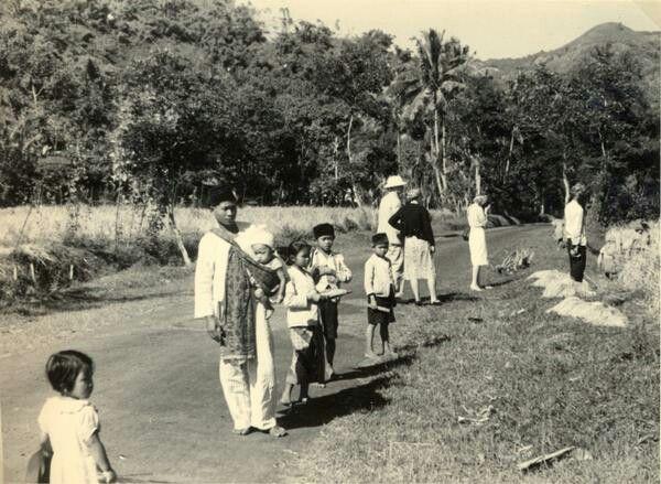Panen padi, di daerah Bandoeng. 1939