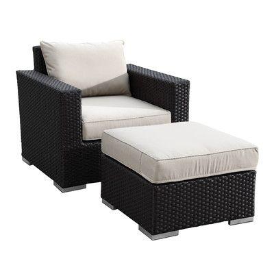 Sunset West Solana Club Chair with Cushion & Reviews   Wayfair