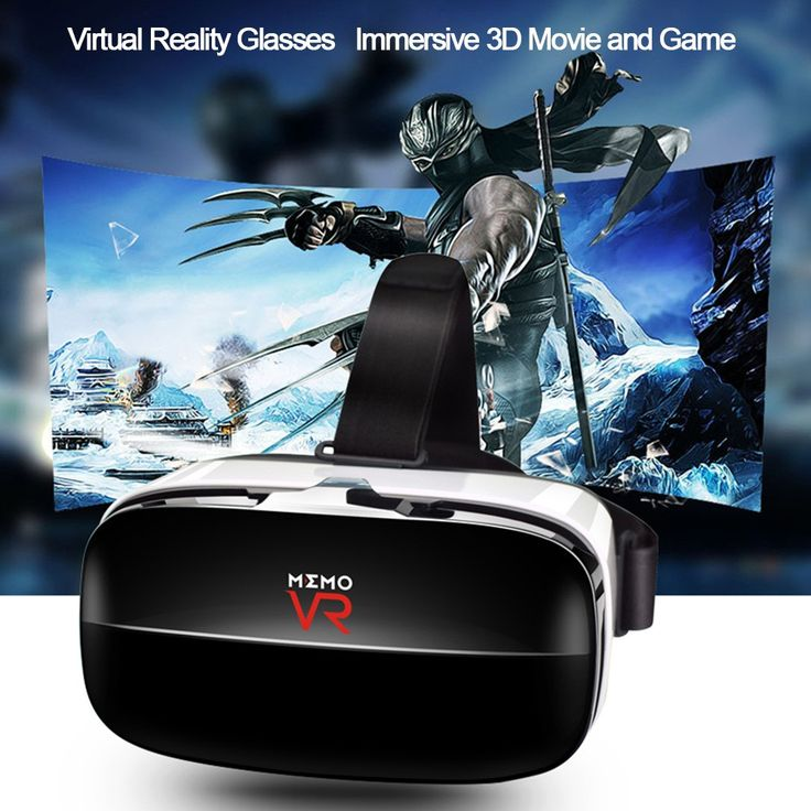 Only US$14.49, MEMO V6 Virtual Reality Glasses 3D VR Box Glasses Immersive - Tomtop.com