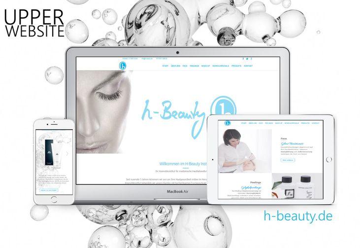 Webdesign für H-Beauty Köln Neugestaltung der Webpräsenz für H-Beauty in Köln  Das H-Beauty Kosmetikinstitut in Köln beauftrage Upper Website mit der Neugestaltung der Webseite.