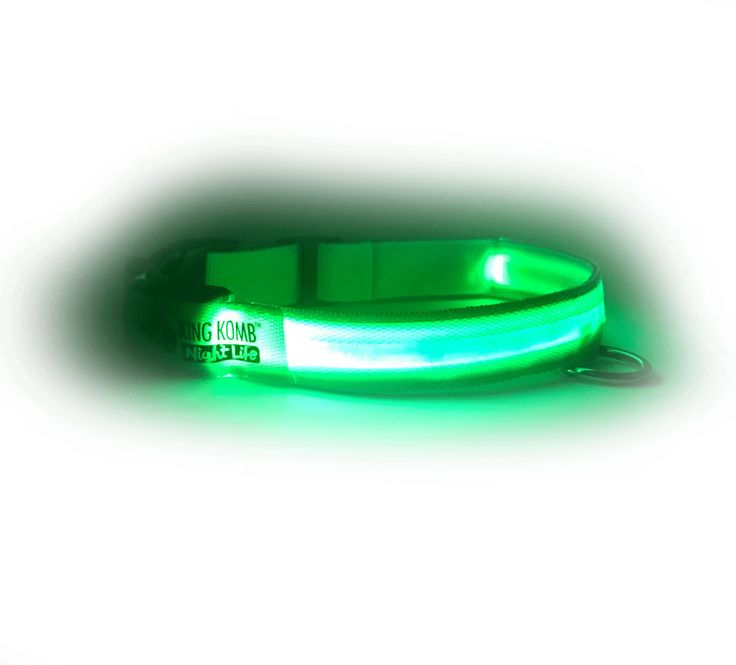 It is LED Reflective safety collars. It is in Nylon material, waterproof and adjustable. Available in all size like Medium, Large, Xtra Large. It is available in 3 colors like red, green and blue. Currently, Special Offer is provide by King kanine.
