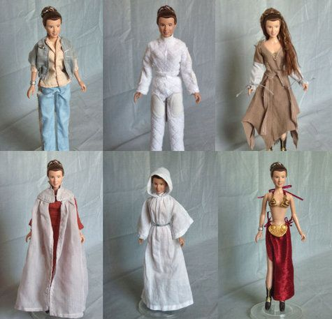 Star Wars Leia Organa Barbie Pattern