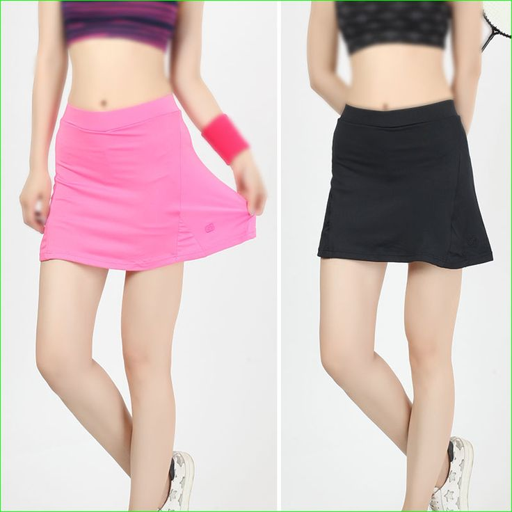 Woman Slim Fit Tennis Skorts With Inside Ball Pocket Quick Dry Bust Package Hip Skirt for Badminton Running
