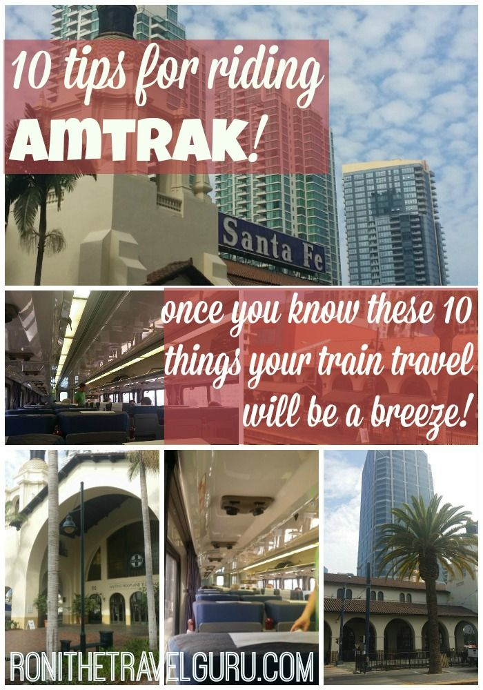 Whether you're a budget or luxury traveler, Amtrak has options to meet your needs! Here are 10 tips for your train travels.