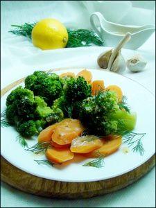 Овощи на пару, с горчичным соусом. Как гарнир или пикантный салат. Тест-драйв.