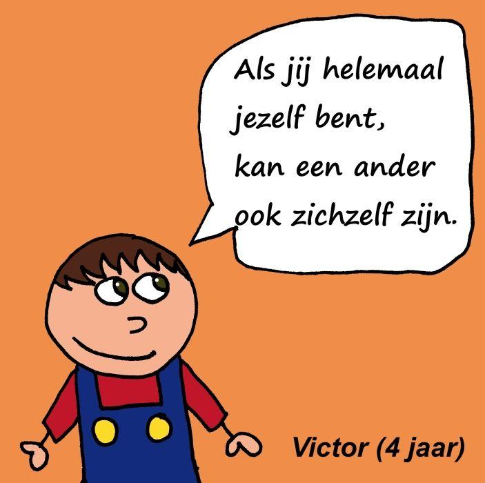 Facebookpost van de website www.gedachte-kracht.nl