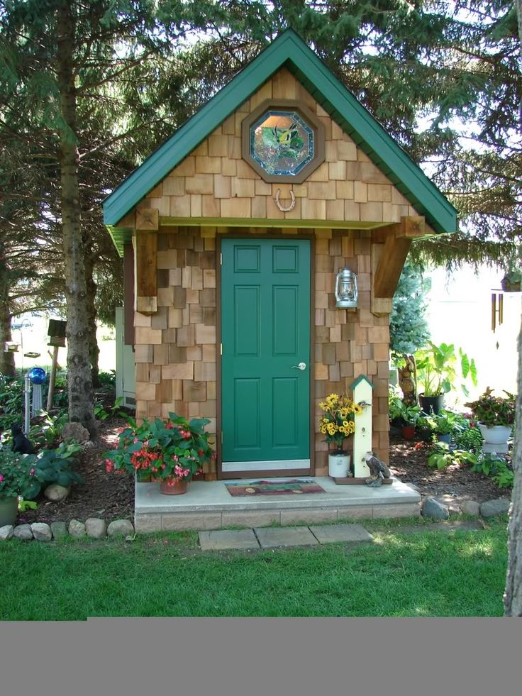 117 best images about garden shed on pinterest for Garden shed designs and plans