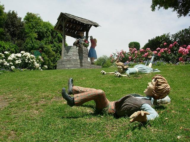 The Storybook Garden, Jack & Jill.  Hunter Valley Gardens, Australia.
