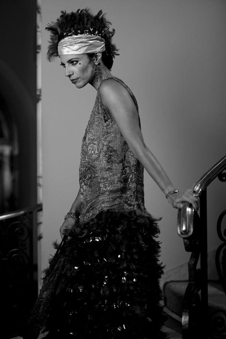Beauty shopping inspirado en la película Blancanieves: Maribel Verdú en clave flapper