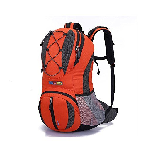 WIN 22L Water-resistant Cycling Outdoor Backpack Bike Riding Mountain Bicycle Travel Hiking Camping Running Water Bag(Orange)