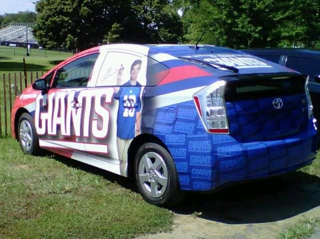 lawrence tynes's car. where the hell did he get this thing??
